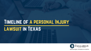 timeline of a personal injury lawsuit in texas