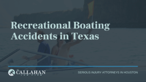 recreational boating accidents in texas