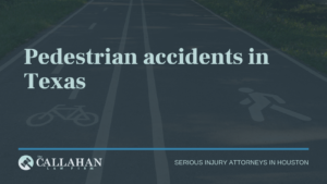 pedestrian accidents in texas