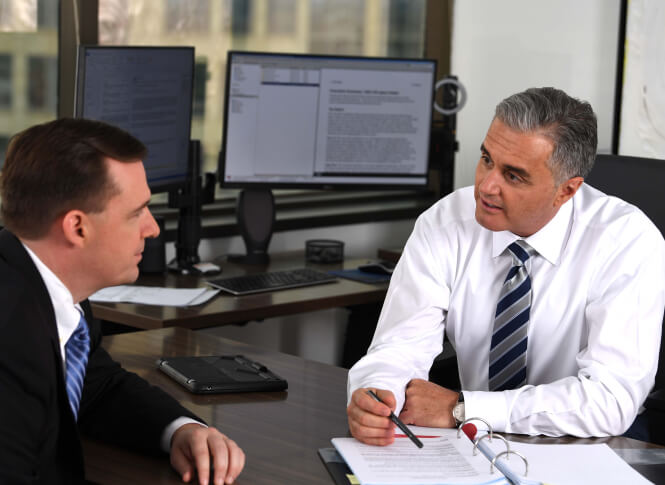 speaking with a trial attorney