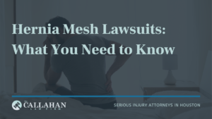 Hernia Mesh Lawsuits: What You Need to Know